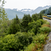 Anchorage to Seward - Riding the Alaska Railroad