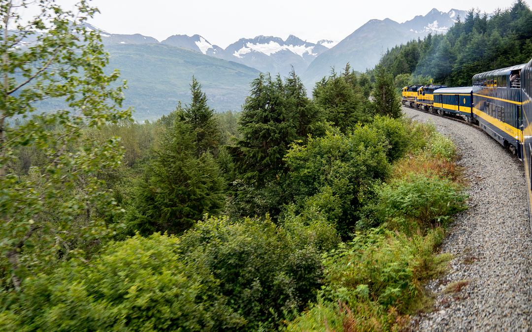 Anchorage to Seward – Riding the Alaska Railroad