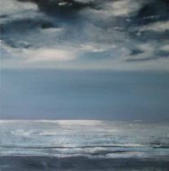 Jewelled Moment - sold 60 x 60cm