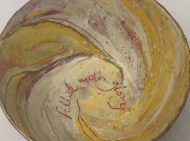 'Redeemed Vessels'- sold 'Filled with glory'