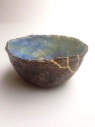 Blue - sold 'Redeemed Vessels' series