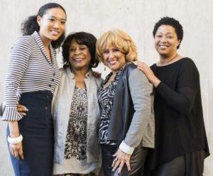 Judith Hill, Merry Clayton, Darlene Love & Lisa Fischer/photo by Kevin Mazur