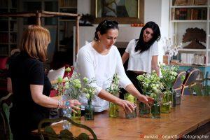 Maria Luisa Rocchi floral designer a Roma
