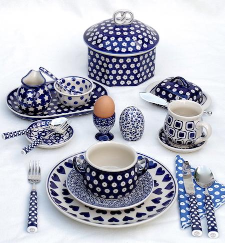 blauw:wit Pools aardewerk