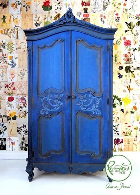 painted armoire Annie Sloan