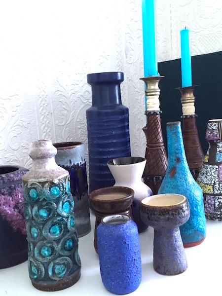 vazen uit kringloopwinkel