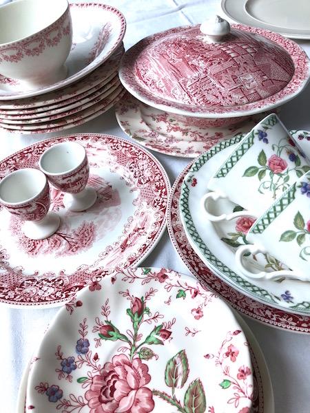 roze servies