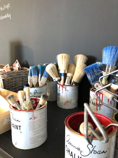annie Sloan brushes