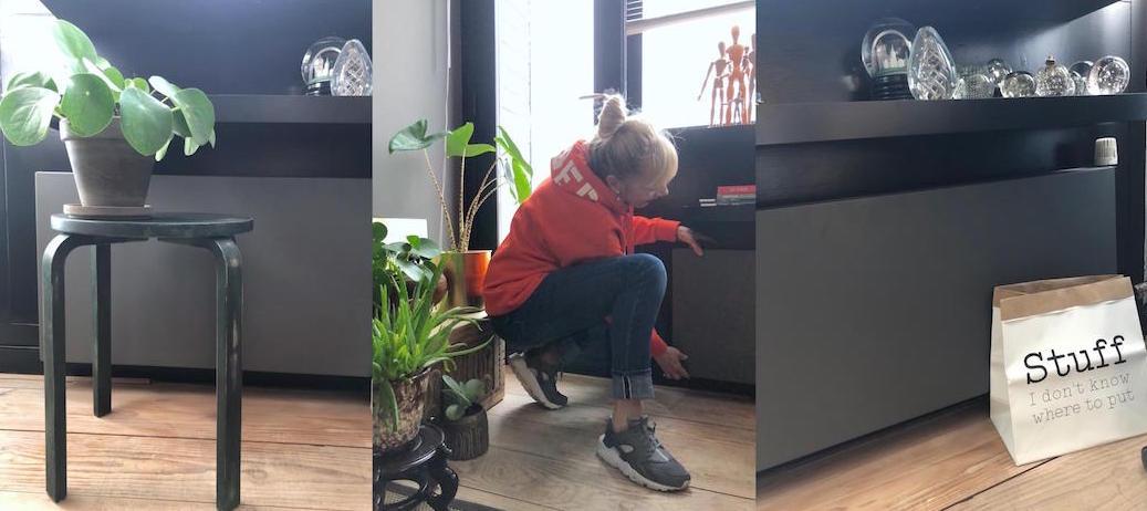 Hoe werk je een lelijke radiator super snel en makkelijk weg ?