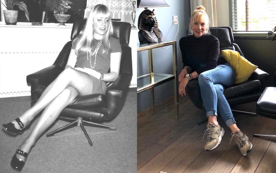 collage-ik in de stoel