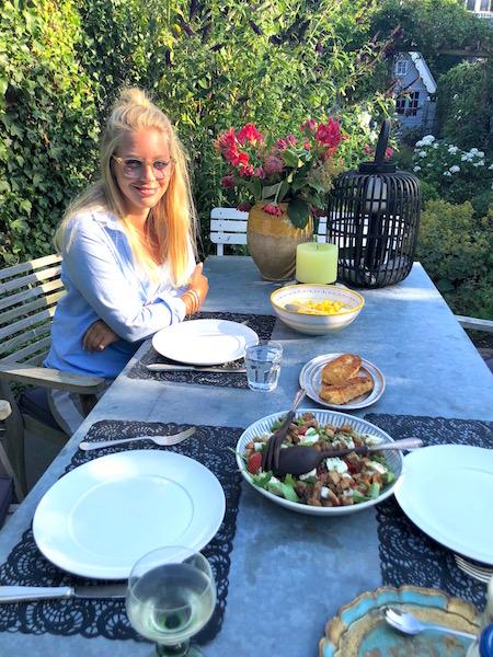 'woon'dingen- buiten eten