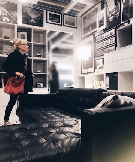 gallery wall bij Ikea