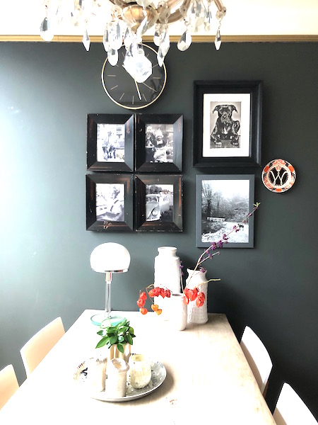 woonkamer gallery wall