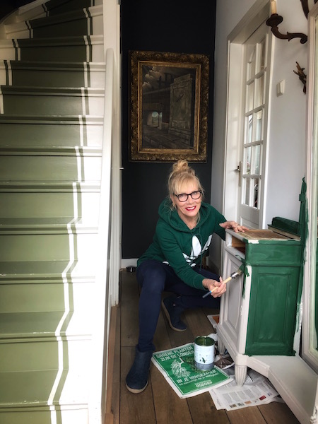 hallway- Annie Sloan chalkpaint