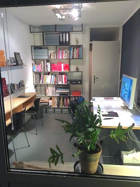 Binnenkijken-werkkamer