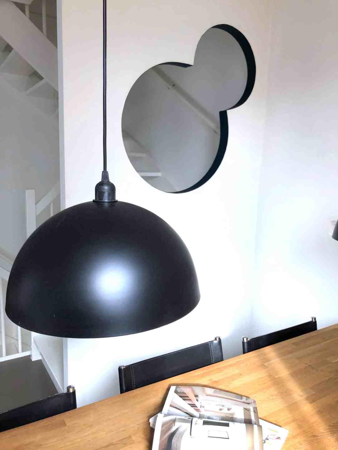 touch of gold- zwarte lamp