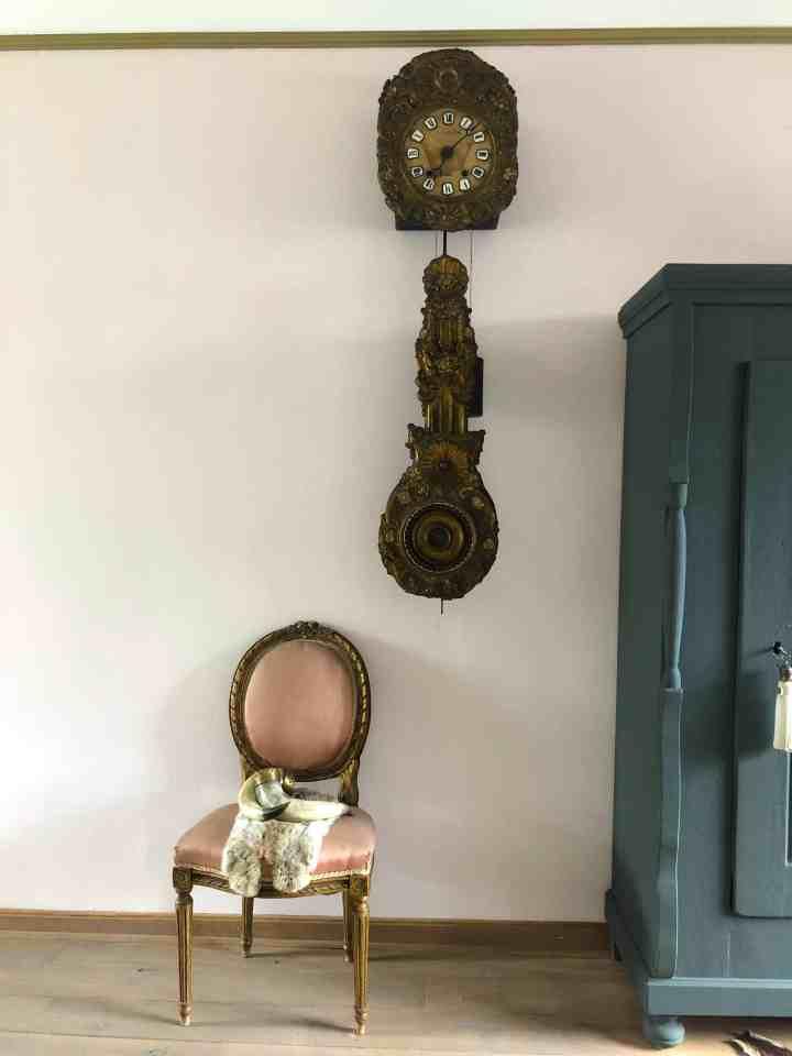 Antieke Comtoise klok