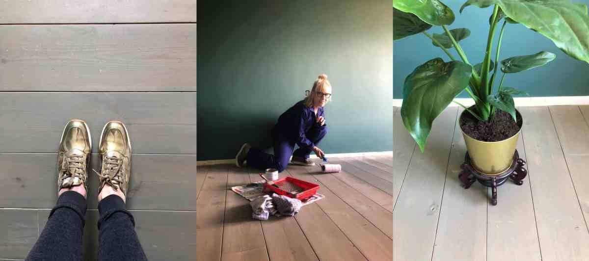 Houten vloer grey-washen: hoe doe je dat?