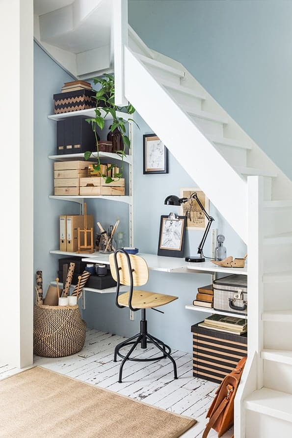 ikea-bureau-onder-trap