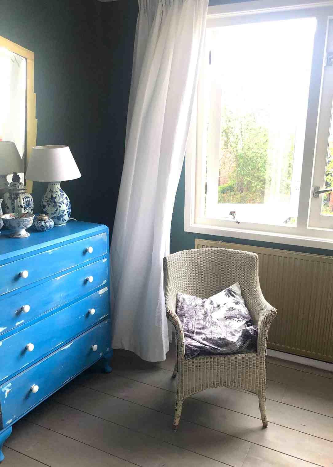 slaapkamer make-over- gordijn