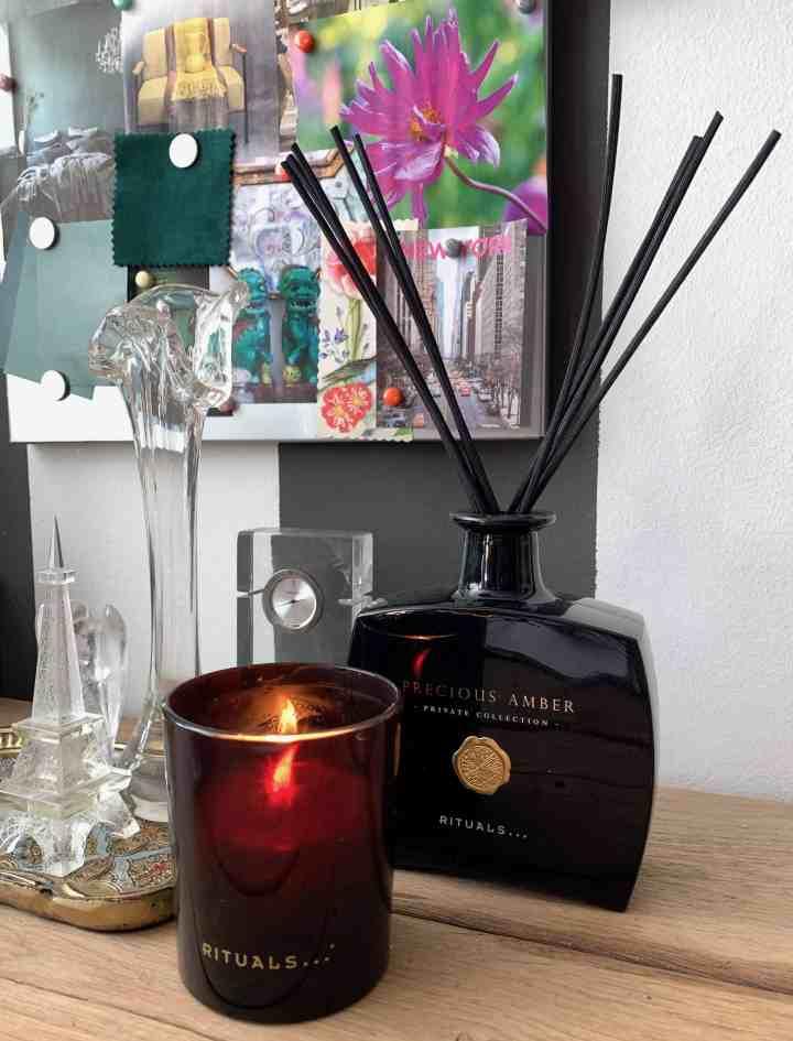 Hoe ik de herfst in huis haal-geurkaars Rituals