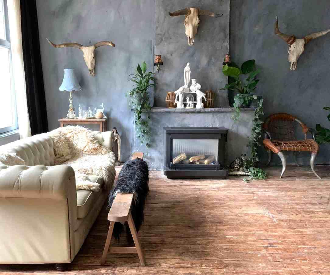 weird & wonderful interieur-woonkamer