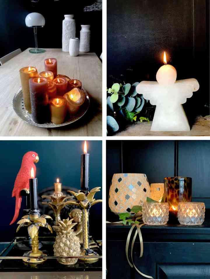 Kaarsen voor kerst
