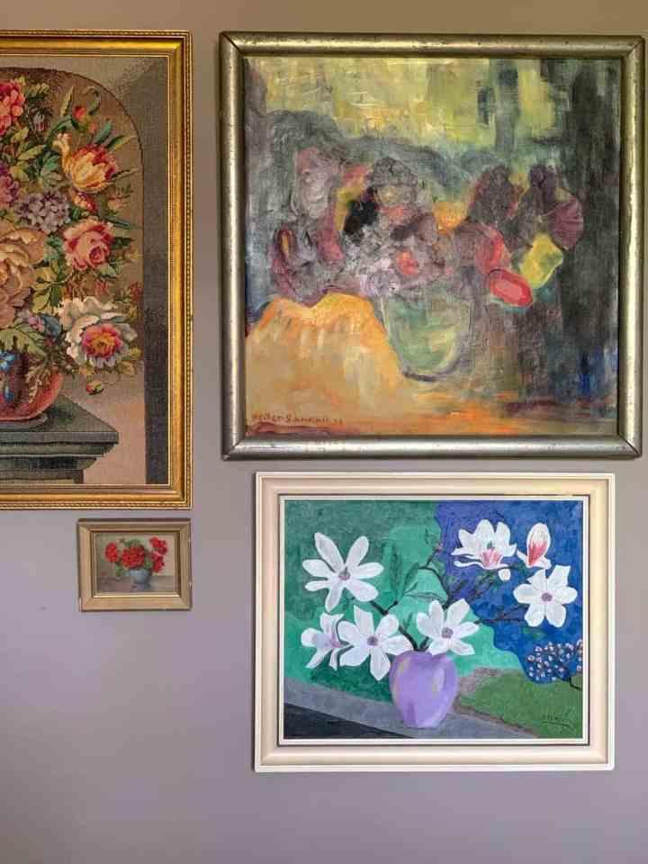 oude bloemenschilderijen