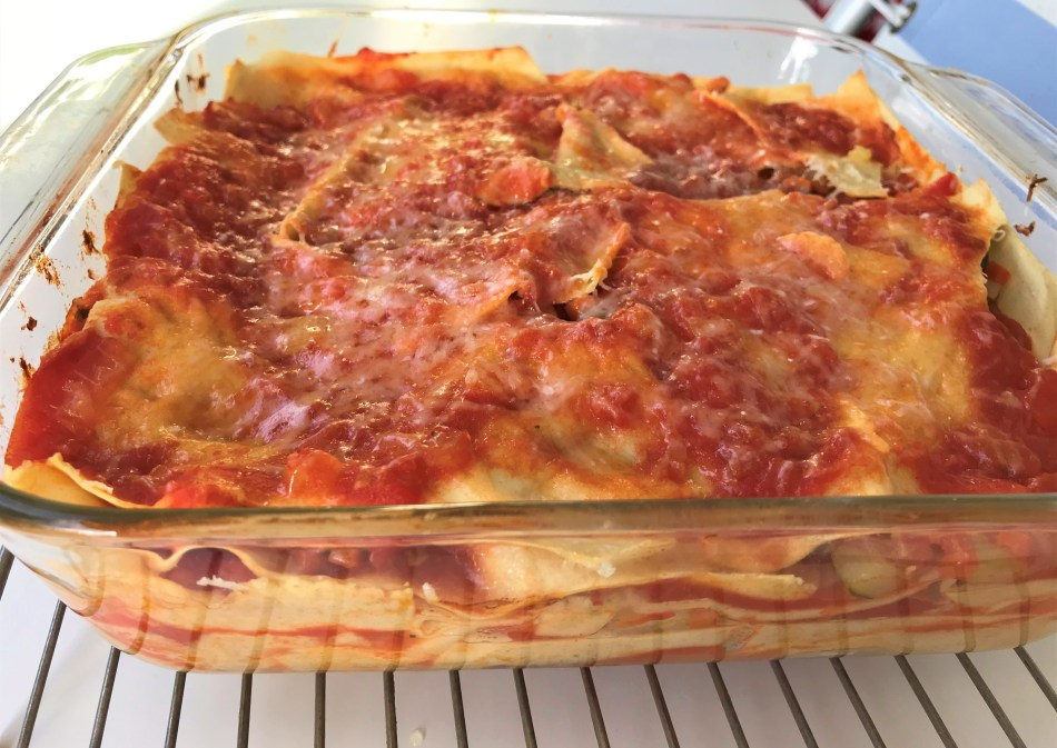 lasagne done