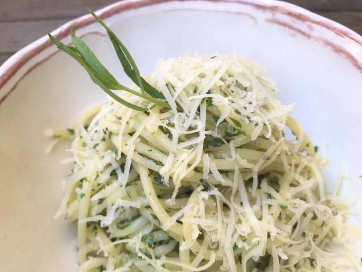spaghetti tarragon