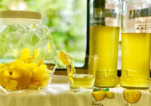 limoncello lemons semolina cake