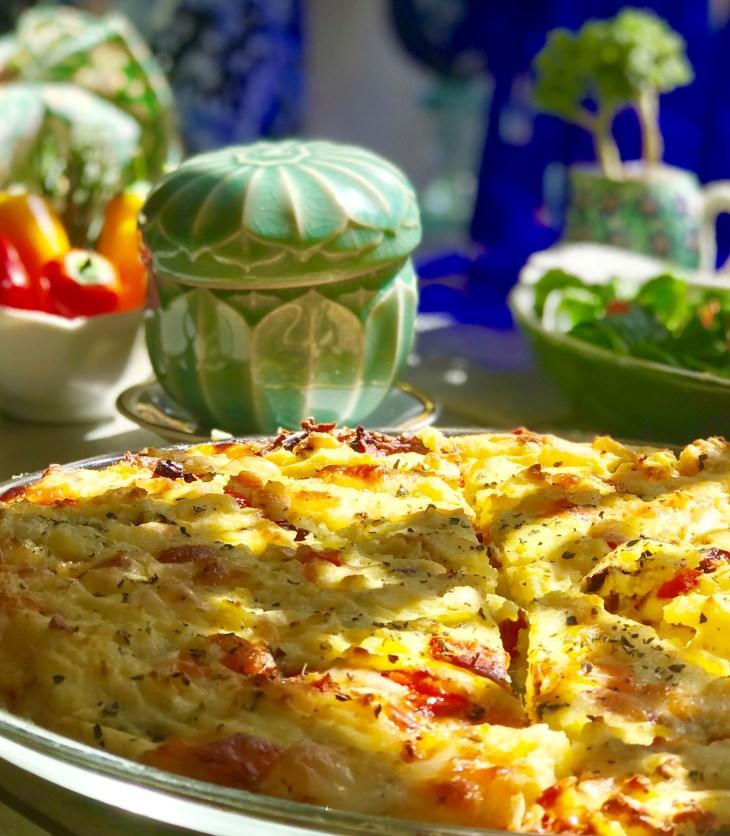 Gluten-free vegetarian tart
