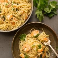 Easy Italian Pasta Shrimp