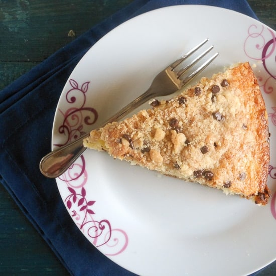 Easy Chocolate Chip Streusel Cake
