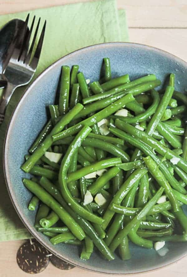 Simple Italian Green Bean Toss