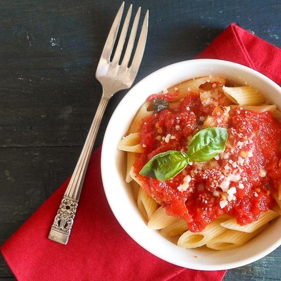 fresh tomato sauce anitalianinmykitchen