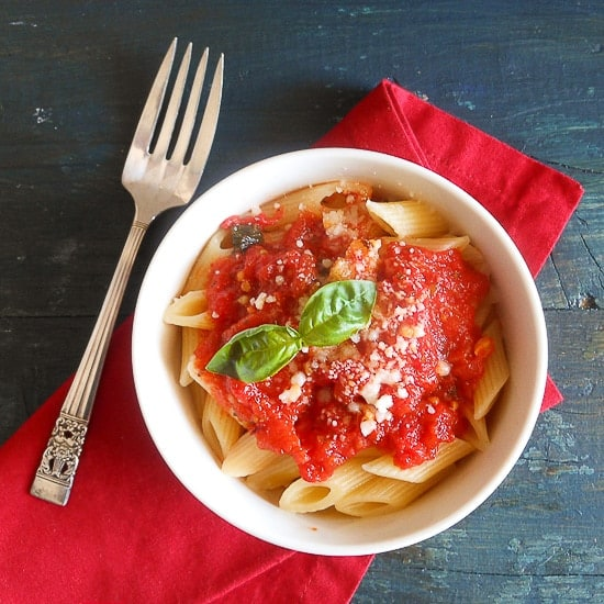 fresh tomato sauce anitalianinmykitchen.com