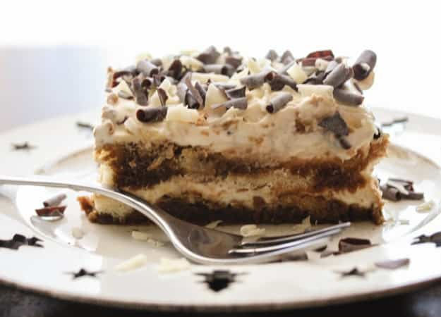 An Easy Tiramisu Recipe, the perfect creamiest filling for any base, lady fingers or cake. A delicious authentic Italian cake and cream filling recipe.|anitalinainmykitchen.com