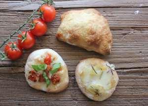 pizzette and mini calzoni/anitalianinmykitchen.com