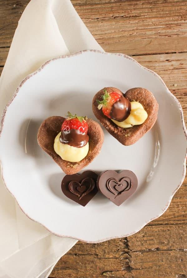 Italian Valentines Day Tarts