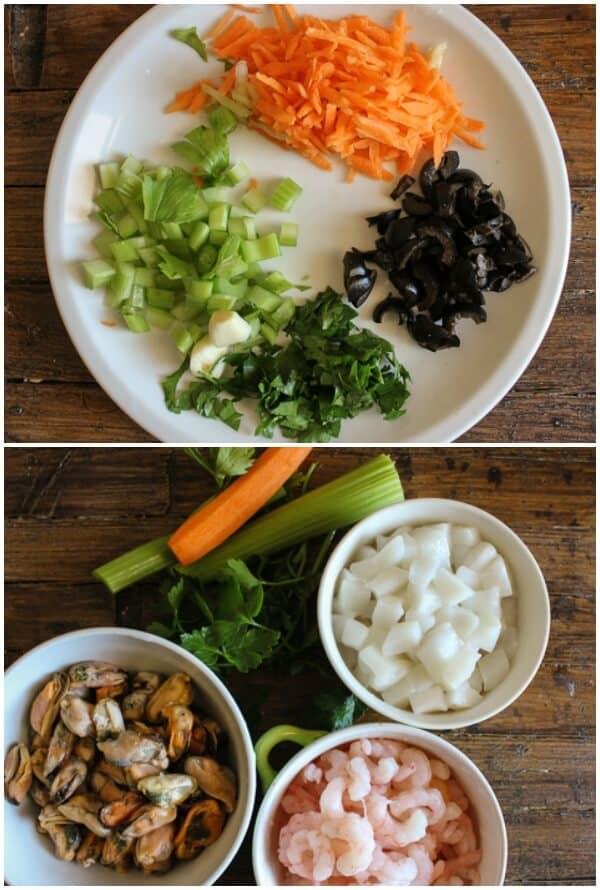 Italian fish salad recipes