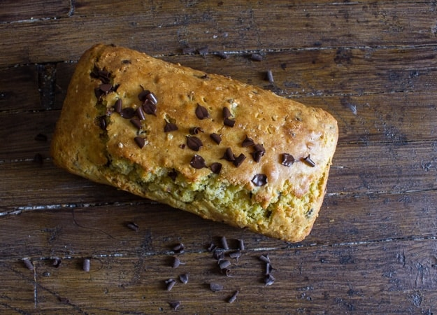 the ultimate chocolate chip and greek yogurt loaf