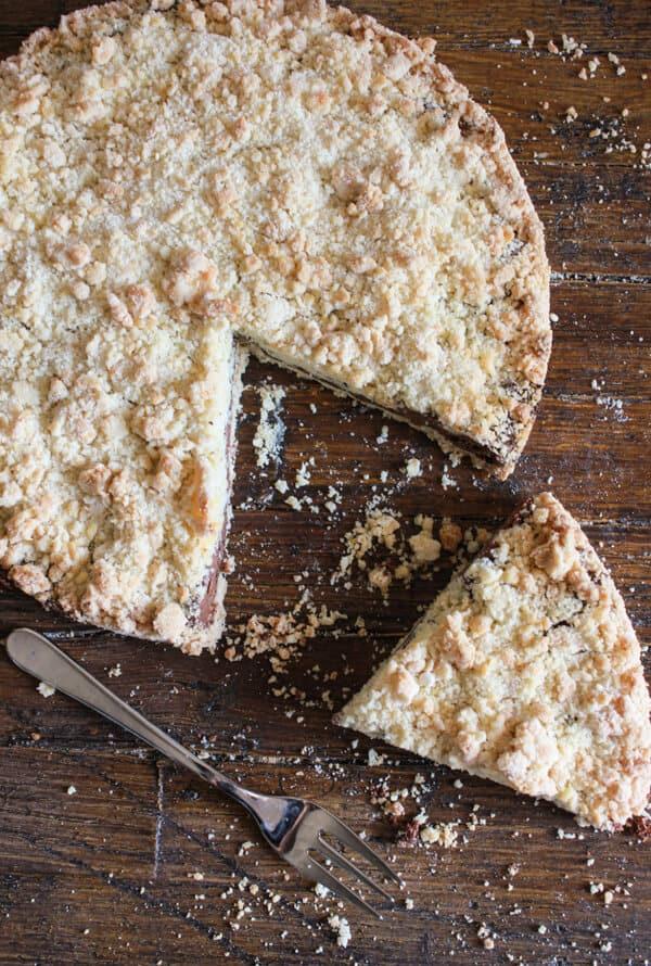 Italian Nutella Crumb Cake