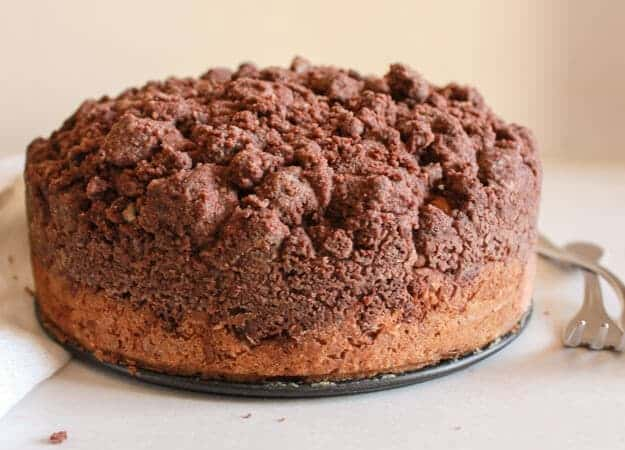 Double Chocolate Crumb Cake Recipe