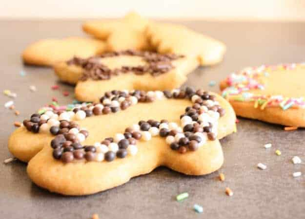 Brown Sugar Cut-Out Cookies, easy delicious cut out cookie dough recipe, a soft cookie with a little crunch. One of my Mom's best recipes.