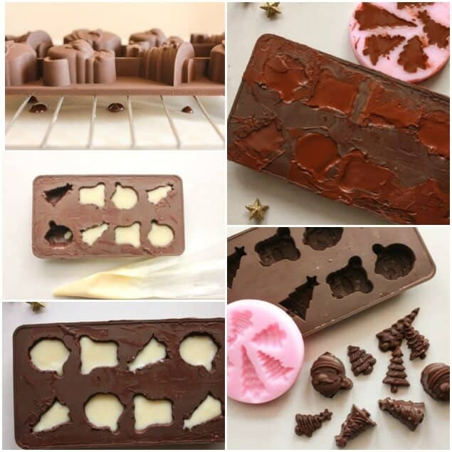 Easy Homemade Filled Chocolates, a delicious homemade candy recipe, chocolate molds, make this an easy to make after dessert treat.