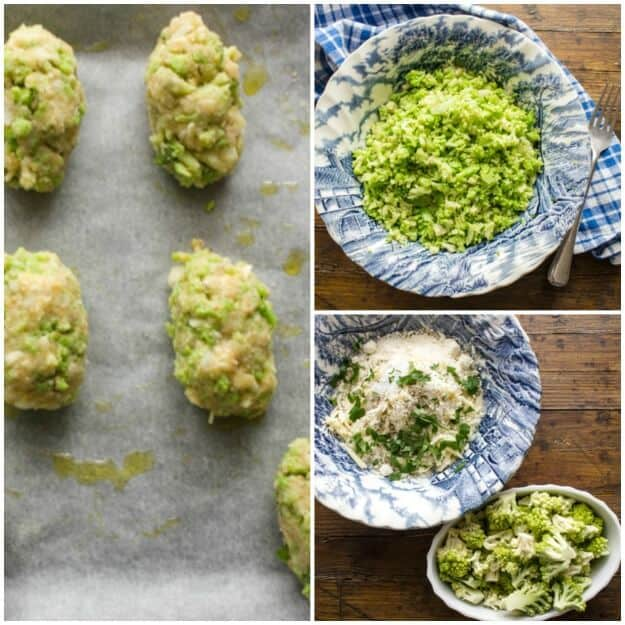 Baked Broccoli Tater Tots, fast, easy, healthy and delicious way to eat your veggies. A low carb side dish the whole family will love.
