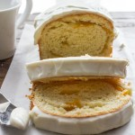 Peaches and Cream Roll Bread, is a delicious breakfast, snack or dessert yeast bread, made with sliced peaches and cream cheese.