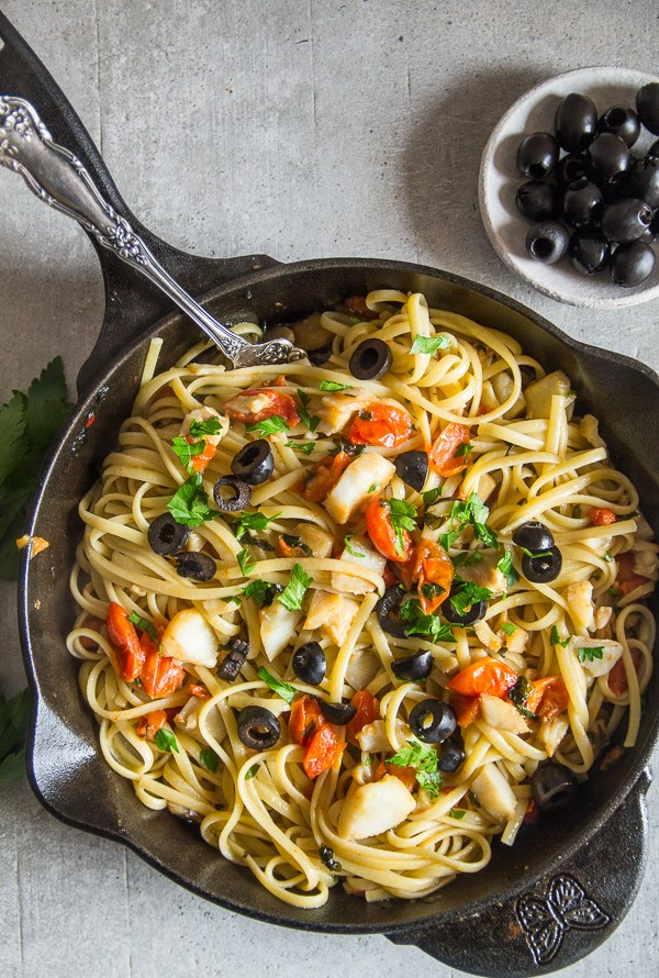 Italian Baccala Linguine Recipe