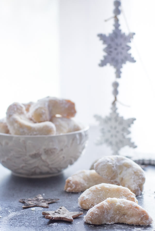 Almond Crescent Cookies